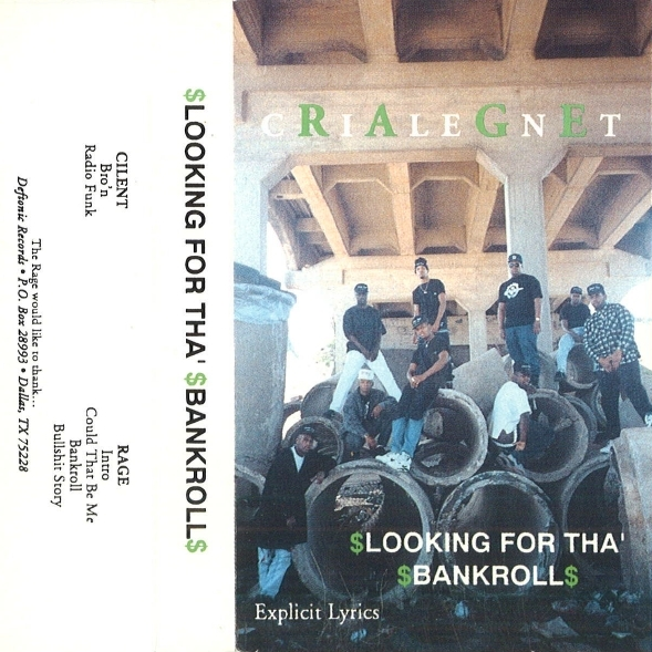 Cilent Rage - Looking For Tha' Bankroll