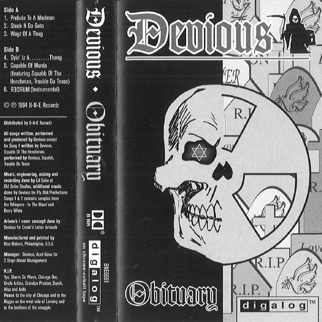Devious - Obituary