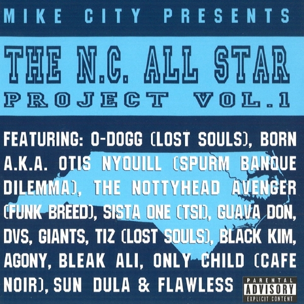 Mike City - presents: The N.C. All Star Project Vol. 1