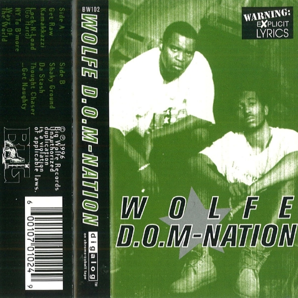 Wolfe D.O.M-Nation - S/T