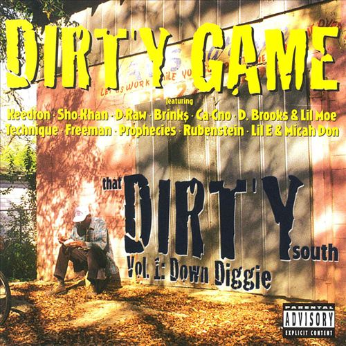 Dirty Game Hustlers - That Dirty South Vol.1: Down Diggie