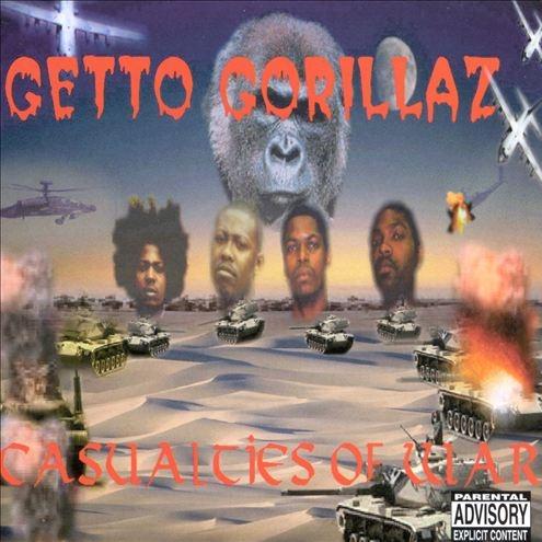 Getto Gorillaz - Casualties Of War