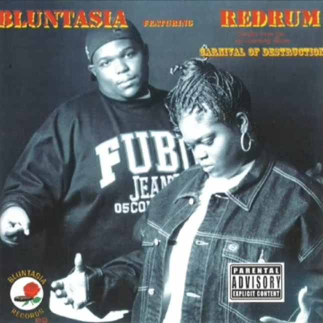 Bluntasia Featuring Redrum - Confiscate / Scream If You Can