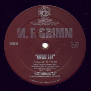 M.F. Grimm – WW III / Scars & Memories