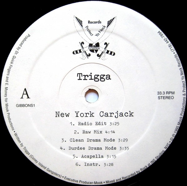 Trigga – New York Carjack / No Tomorrow