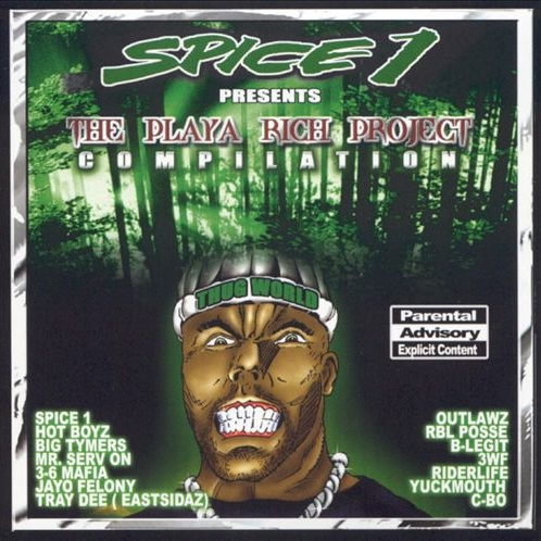 Spice 1 - presents... The Playa Rich Project