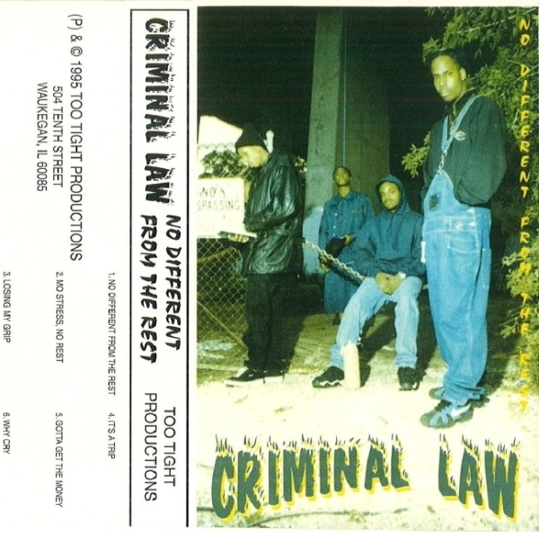Criminal Law - No Different From The Rest