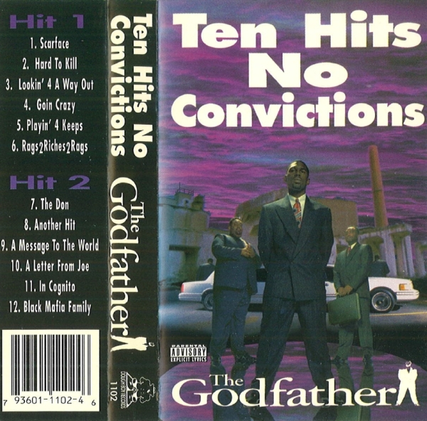 Godfather - Ten Hits No Convictions