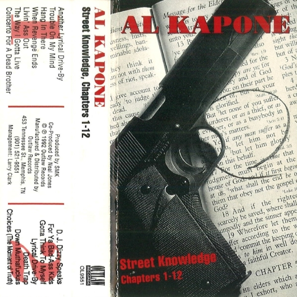 Al Kapone - Street Knowledge, Chapters 1-12