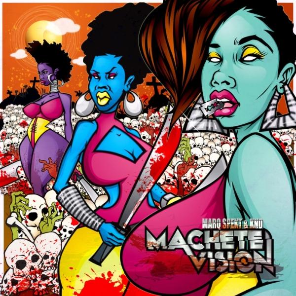 MarQ Spekt & Kno - Machete Vision