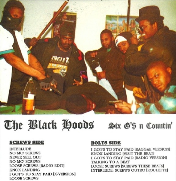 The Black Hoods - Six G's N Countin'