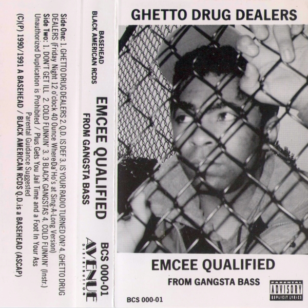 Emcee Qualified - Ghetto Drug Dealers