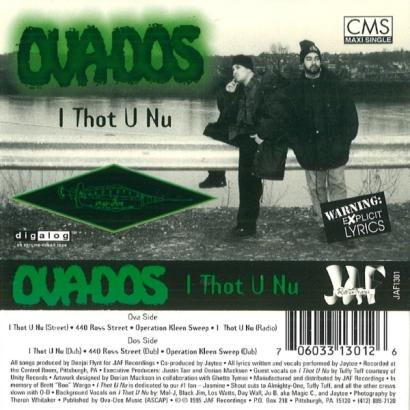 Ova-Dos – I Thot U Nu