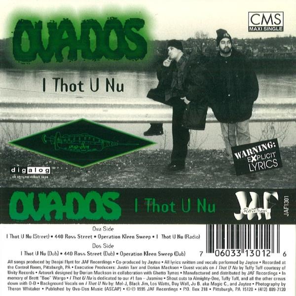 Ova-Dos - I Thot U Nu