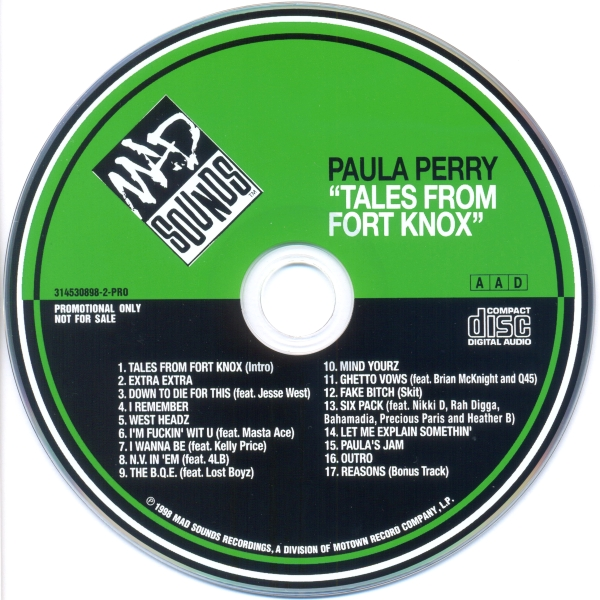 Paula Perry - Tales From Fort Knox