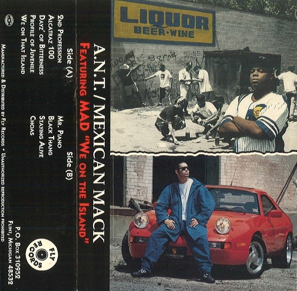 A.N.T. / Mexican Mack - We On The Island