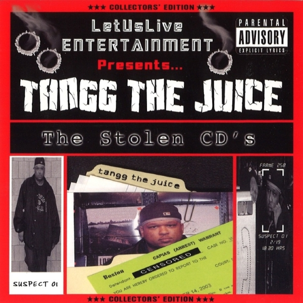 Tangg The Juice - The Stolen CD's